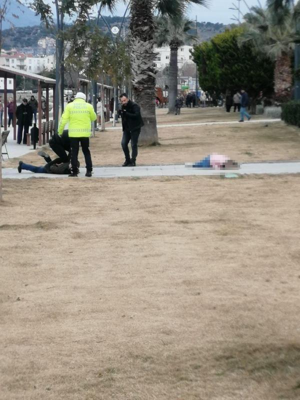 Parkta eşini vurdu, polis ve sağlık ekibi gelinceye kadar başında bekledi -2