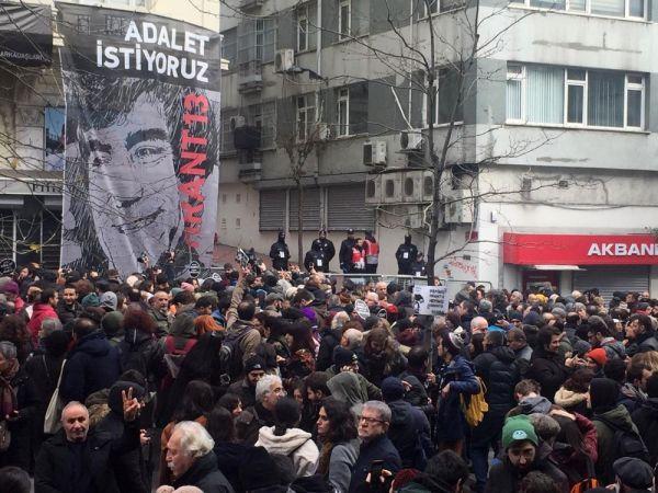 Hrant Dink ölümünün 13. yılında anıldı -4