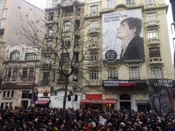 Hrant Dink ölümünün 13. yılında anıldı -1