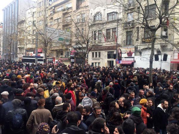 Hrant Dink ölümünün 13. yılında anıldı -3