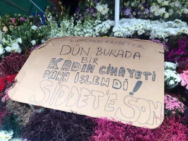 Kocası tarafından öldürülen çiçekçinin tezgahı sahipsiz kaldı -3
