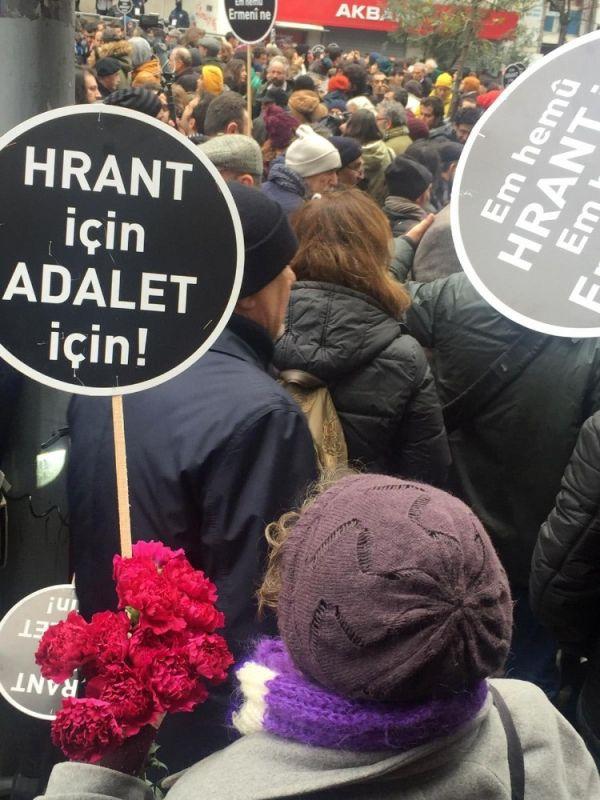 Hrant Dink ölümünün 13. yılında anıldı -5