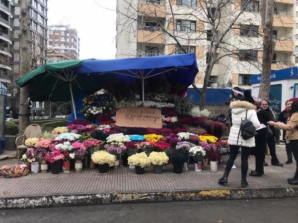 Kocası tarafından öldürülen çiçekçinin tezgahı sahipsiz kaldı -5