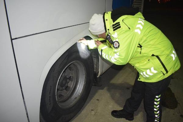 Şehirler arası otobüsler denetlendi, 351 araç trafikten men edildi -2