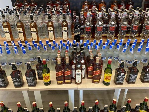 Çanakkale'de kaçak içki operasyonu -2