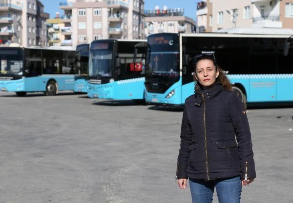 Antalya'da kadın şoförlerin tuvalet tepkisi -1