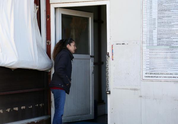 Antalya'da kadın şoförlerin tuvalet tepkisi -2