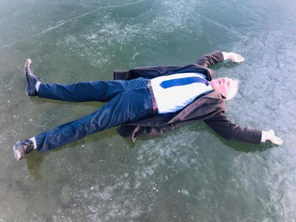 Gökçedere Gölü buz tuttu, çeşme ve dereler dondu -1