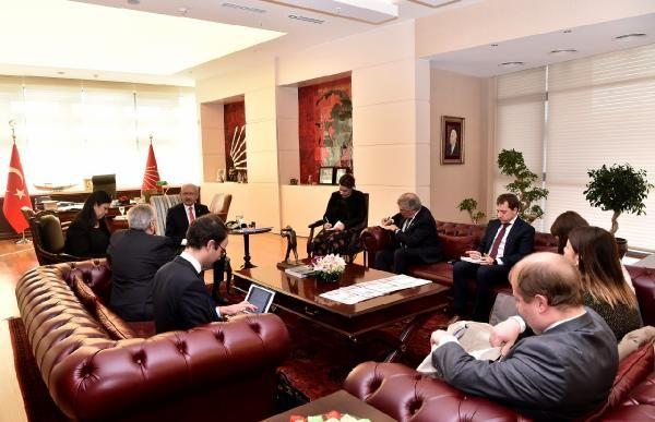 Kılıçdaroğlu, AP Türkiye Raportörü Amor'u kabul etti -2