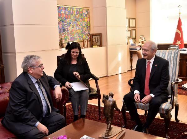 Kılıçdaroğlu, AP Türkiye Raportörü Amor'u kabul etti -3