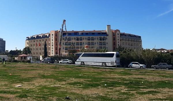 Otel tadilatında çatıdan düşen işçi öldü -1