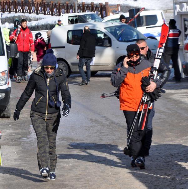 Ekrem İmamoğlu ve ailesinin Palandöken tatili sürüyor -3