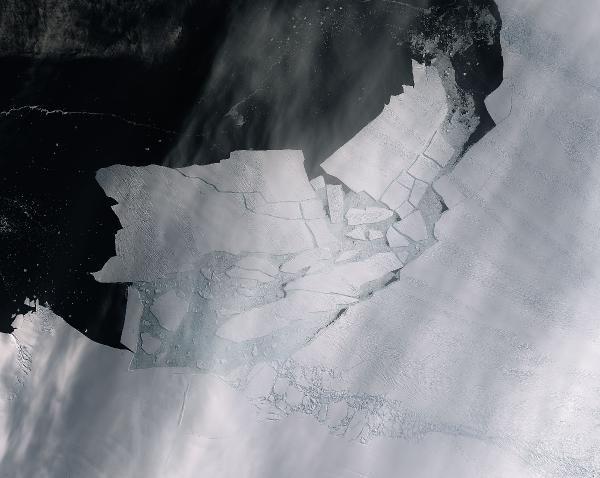 Antartika'da Malta büyüklüğünde buzul yok oldu -1