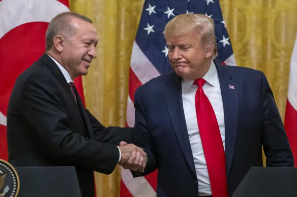 Trump'tan Cumhurbaşkanı Erdoğan'a teşekkür -1