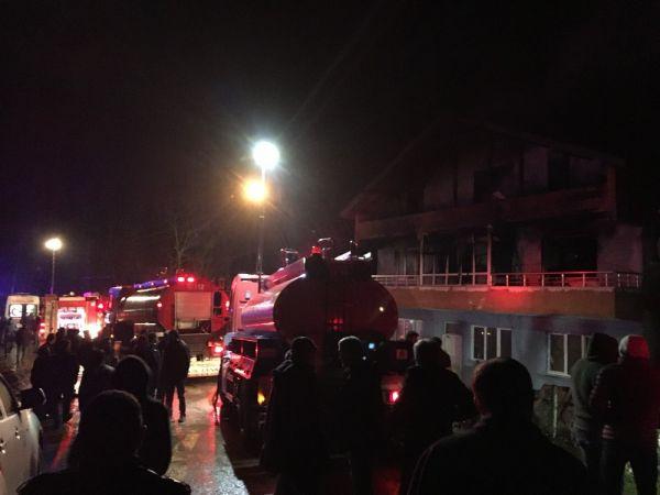 Bartın'da ev yangını: 2 ölü