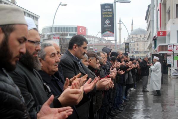 Bolu'da İdlib şehitleri için gıyabi cenaze namazı -5