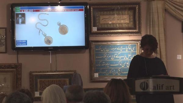 II. Abdülhamid'in saatine rekor ücret -3