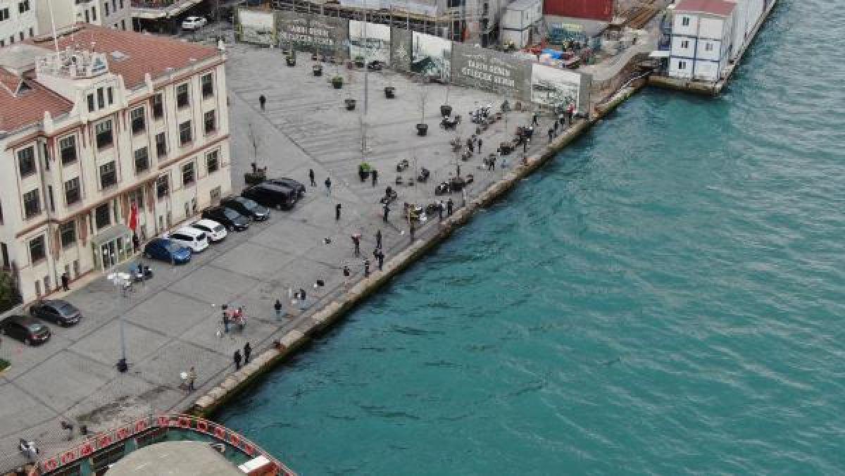 Üsküdar'da yasaklandı ancak Karaköy'de manzara değişmedi -1