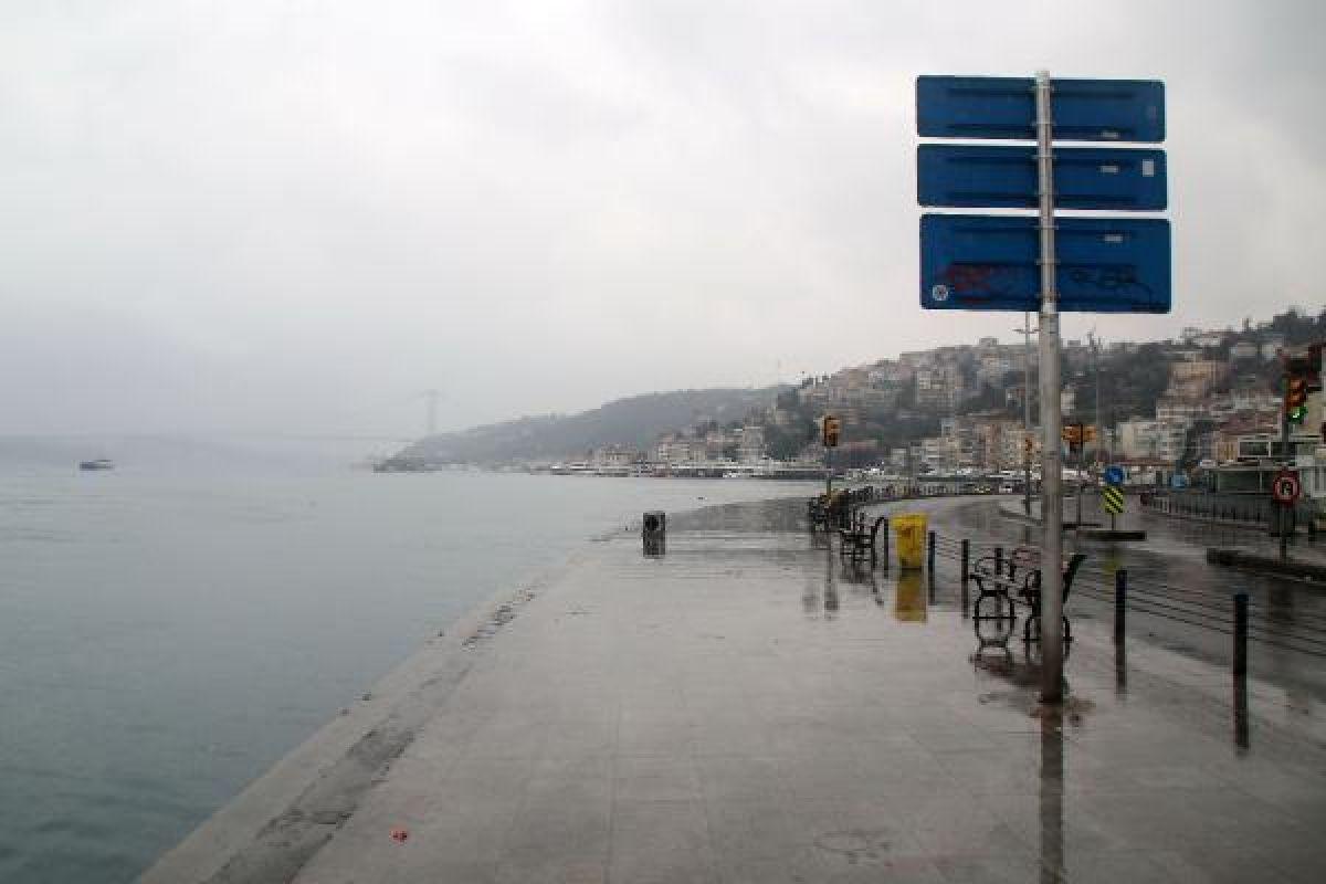 İstanbullular bu pazar sabahı 'evde kal'dılar -6