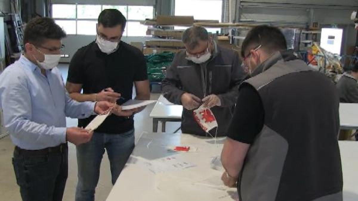 Almanya'nın maske ihtiyacını Türk işletmeler karşılıyor