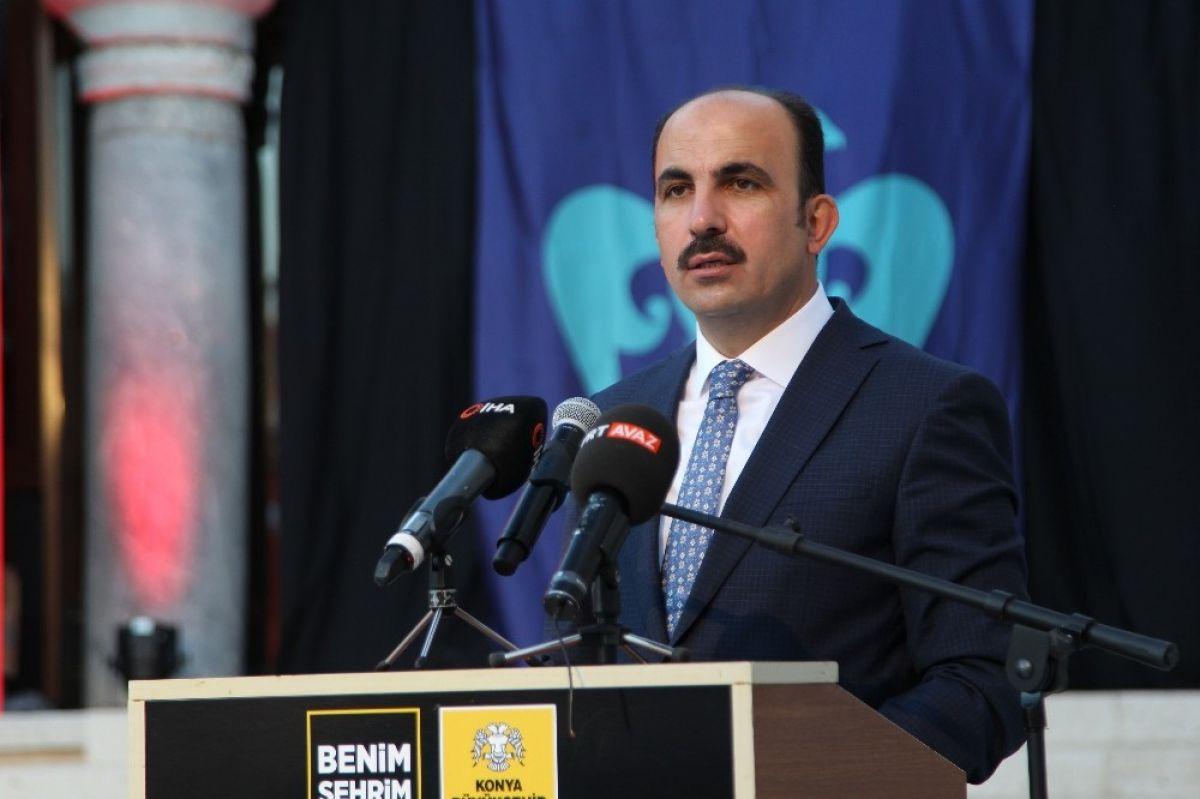 Konya, Selçuklu devletini başkent # 8 olarak tebrik etti
