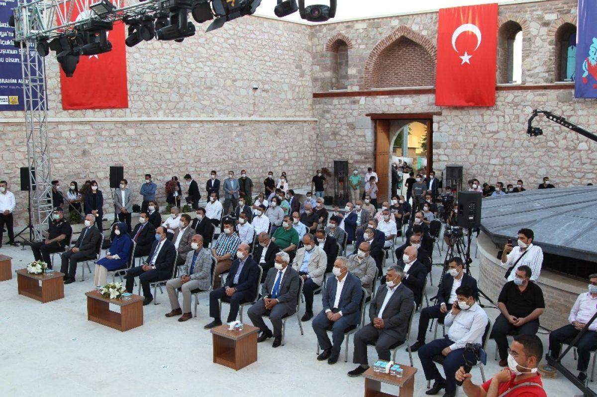 Konya Selçuklu devletini başkenti # 7 olarak tebrik etti