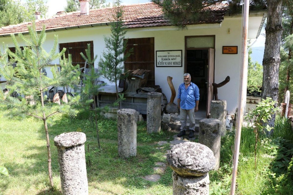 Karabük'te çevreden toplanan kalıntılar oldukları bir müze açtılar.