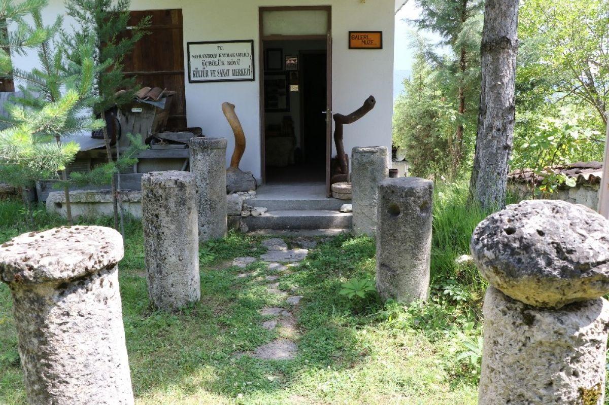 Çevreden toplanan # 4 harabeleri olan Karabük'te bir müze açtılar