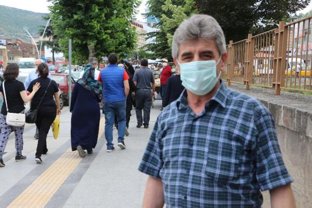 Tokat'ta cenazeye katılan 60 kişiye koronavirüs bulaştı #5