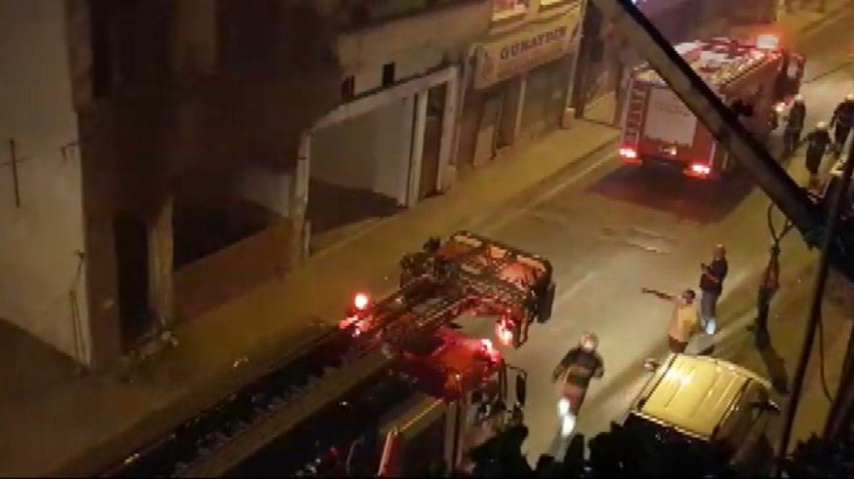 Samsun'da boş binada 1 ayda ikinci yangın #2