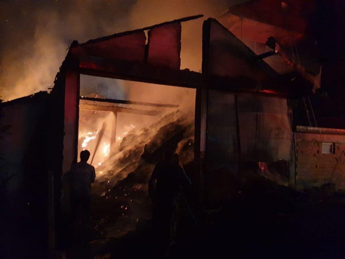 Kastamonu'da 8 yıl sonra, yine evini yangında kaybetti #7