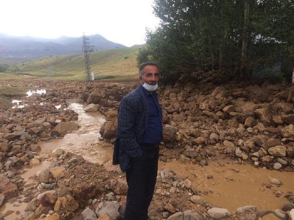 Bingöl'de sel ev ve ekili alanlara zarar verdi #3