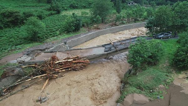 Rize'deki yağışlarda son 91 yılın rekoru kırıldı #12