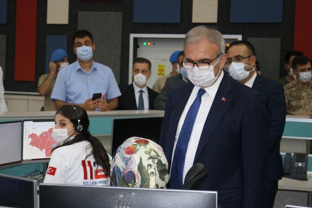Diyarbakır'da tüm acil çağrılar '112' hattından yapılacak #4