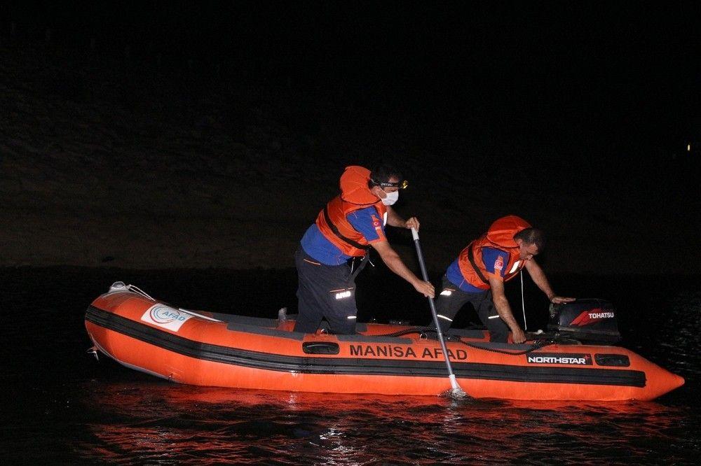 Manisa'da misinalara takılan itfaiyeci boğuldu #5