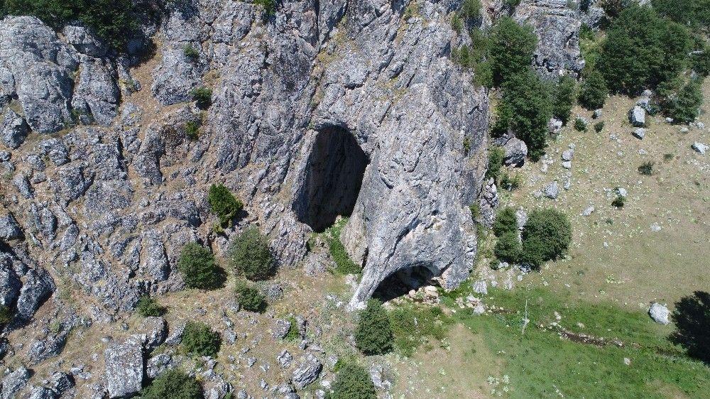 Eskişehir'den girilen mağaranın sonu Bolu'da bitiyor #9