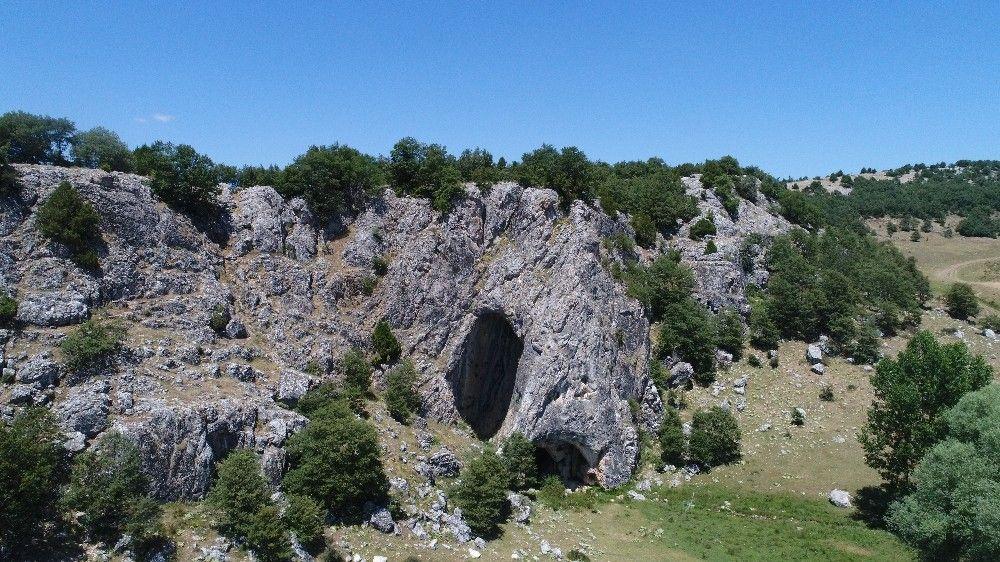 Eskişehir'den girilen mağaranın sonu Bolu'da bitiyor #1