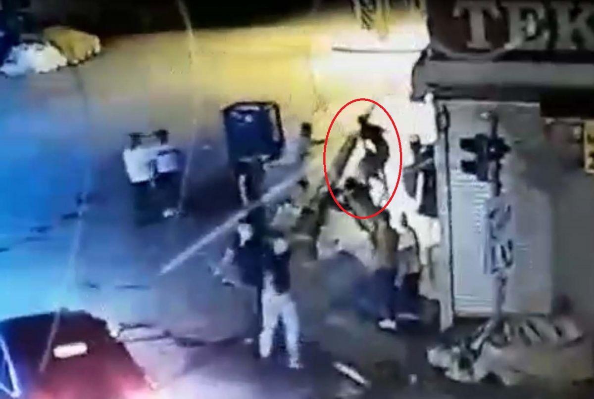 Ankara da, Eren in bıçakla öldürüldüğü yol verme kavgası kameralara yansıdı #9