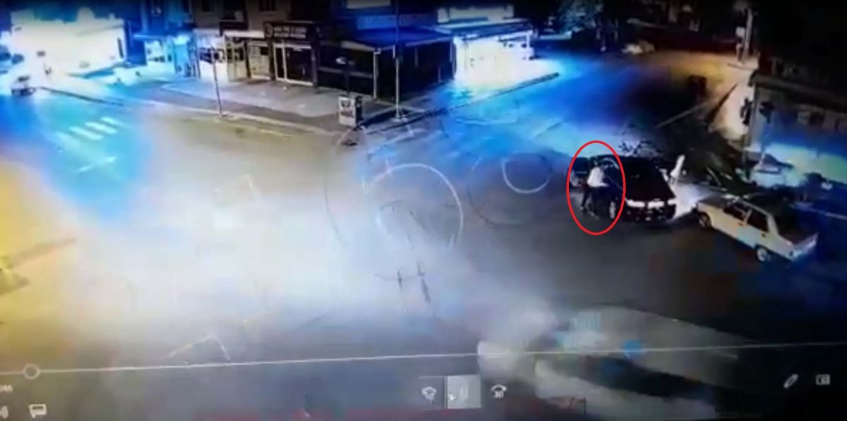 Ankara da, Eren in bıçakla öldürüldüğü yol verme kavgası kameralara yansıdı #2
