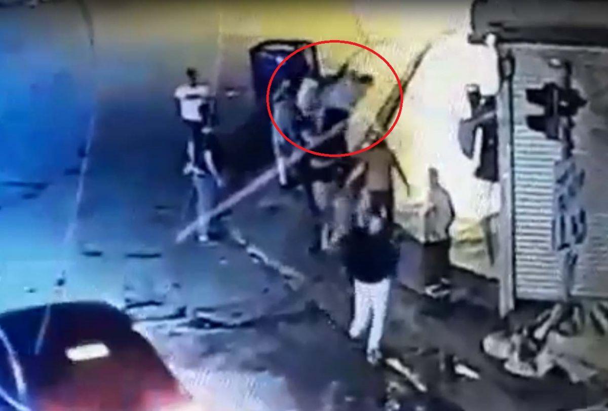 Ankara da, Eren in bıçakla öldürüldüğü yol verme kavgası kameralara yansıdı #7