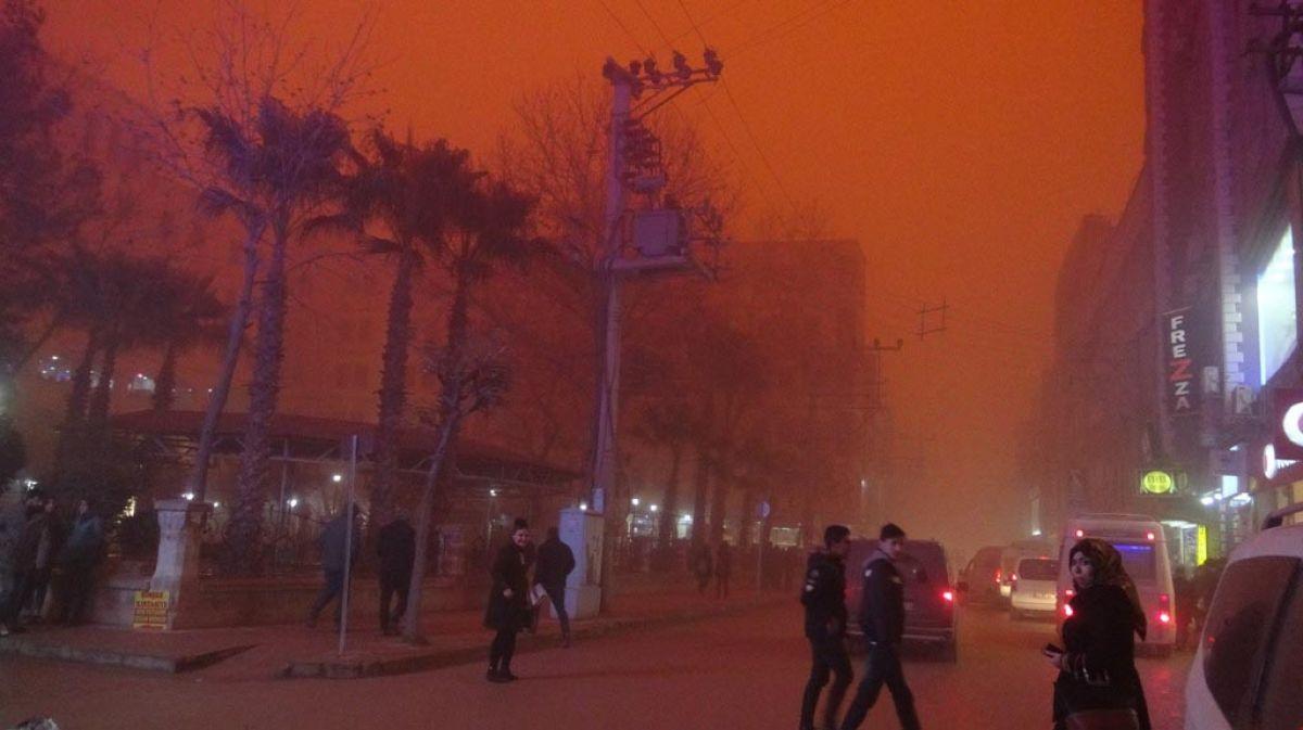Meteoroloji den 7 il için toz fırtınası uyarısı #1