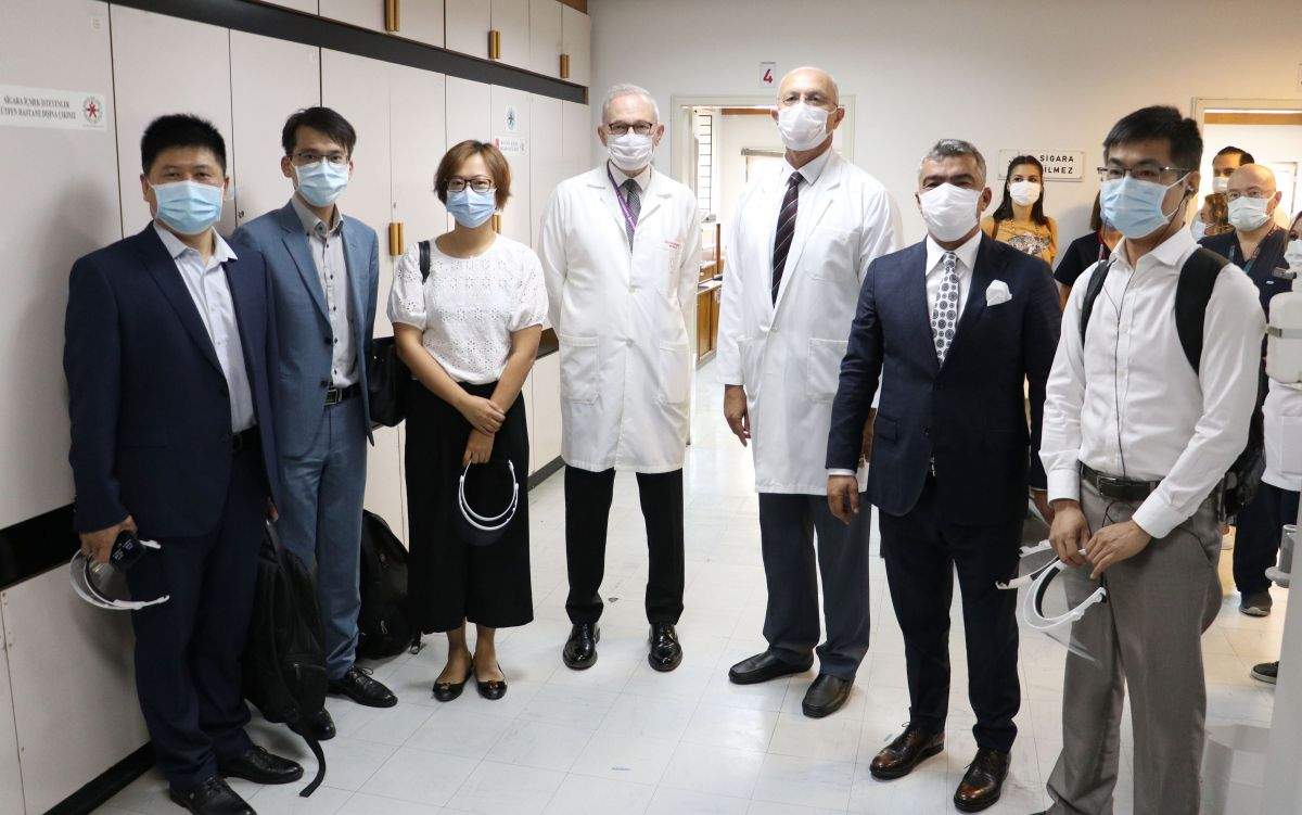 Koronavirüs aşısında ilk gönüllü uygulaması Hacettepe de yapıldı #6