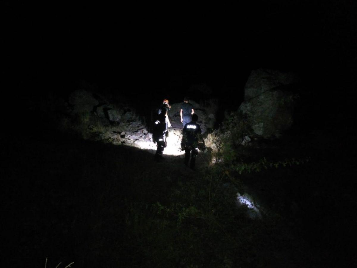 Kayseri de dağlık alanda mahsur kalan 4 genç kurtarıldı #1