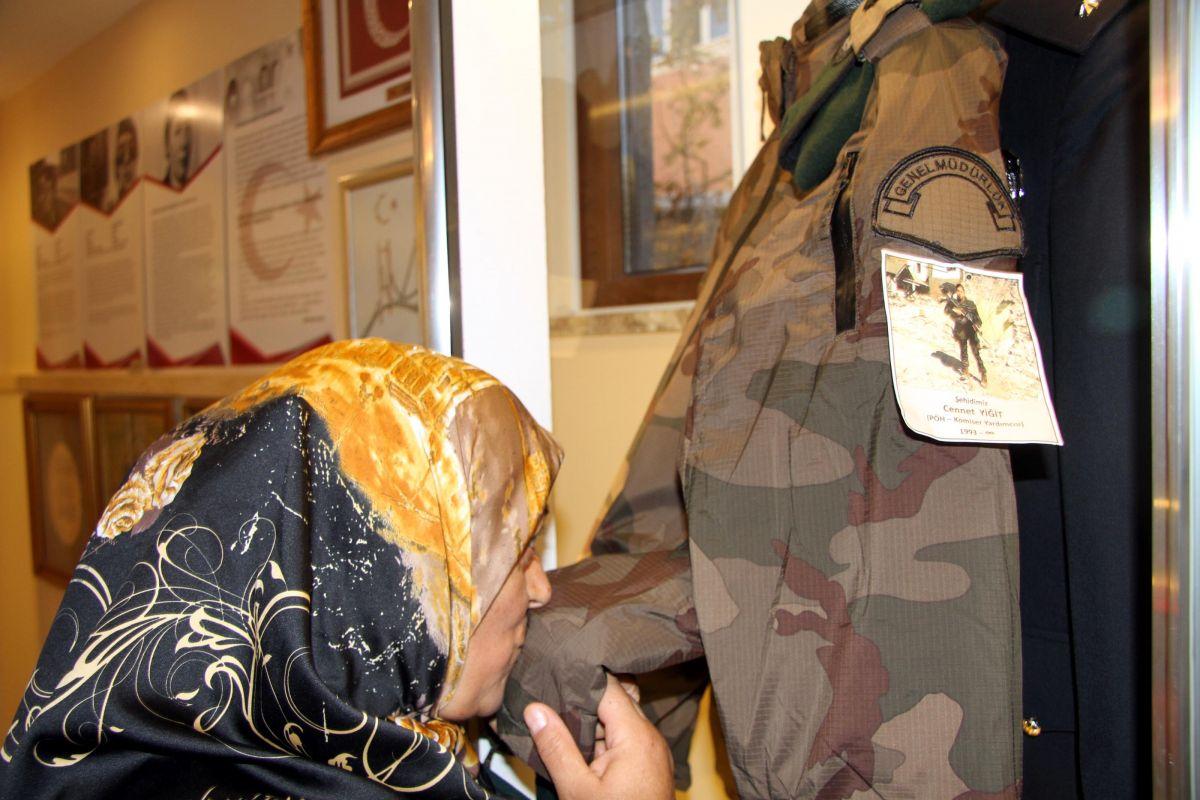 CHP liler şehit Cennet Yiğit in babasına dava açtı #3