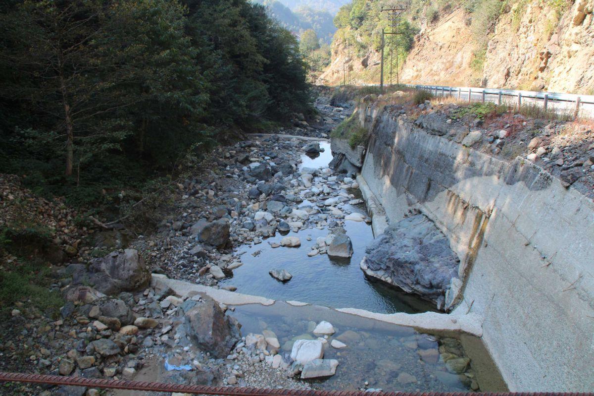 Rize'de su sıkıntısı yaşanıyor #1