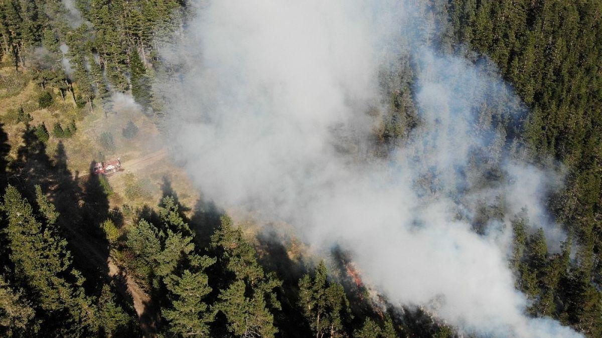 Kastamonu daki orman yangını 4 gündür söndürülemedi #2