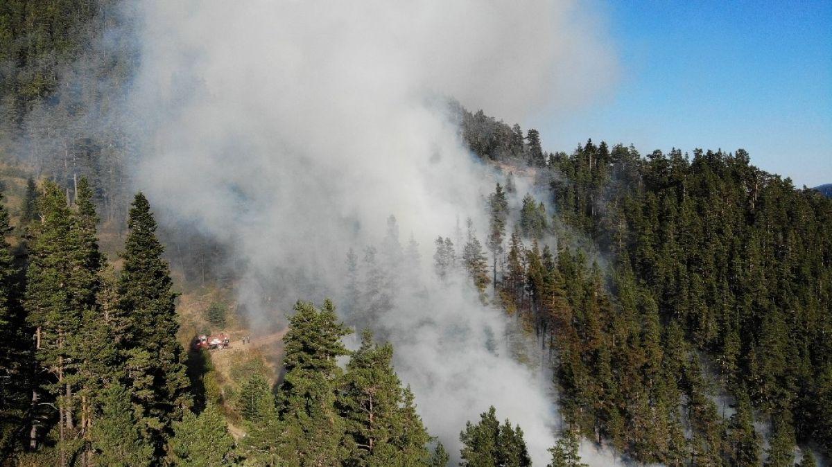 Kastamonu daki orman yangını 4 gündür söndürülemedi #5