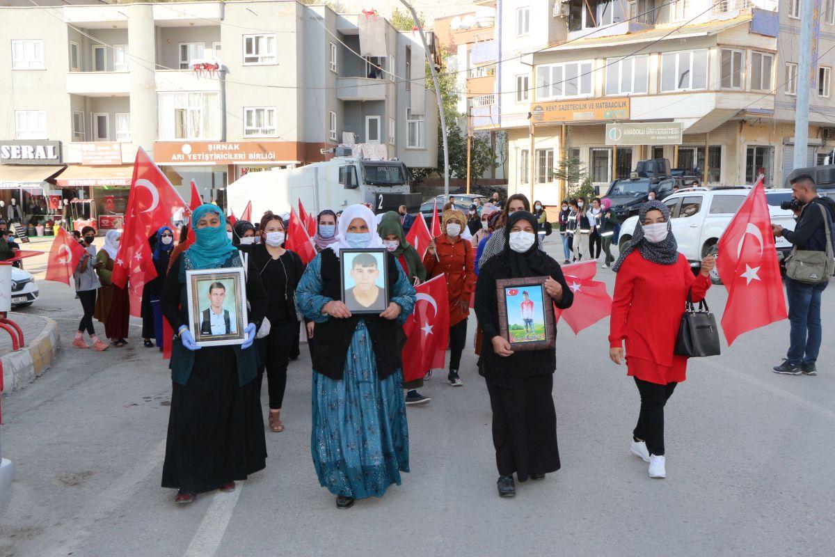 Şırnak ta HDP li vekil, PKK ya karşı eylem yapan annelere karşı durdu #4