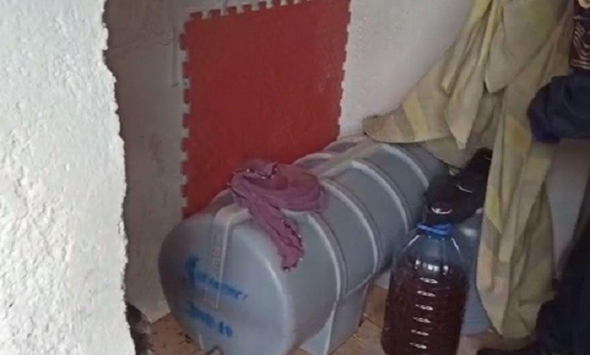 Elazığ'da 1 tondan fazla kaçak şarap ele geçirildi #3