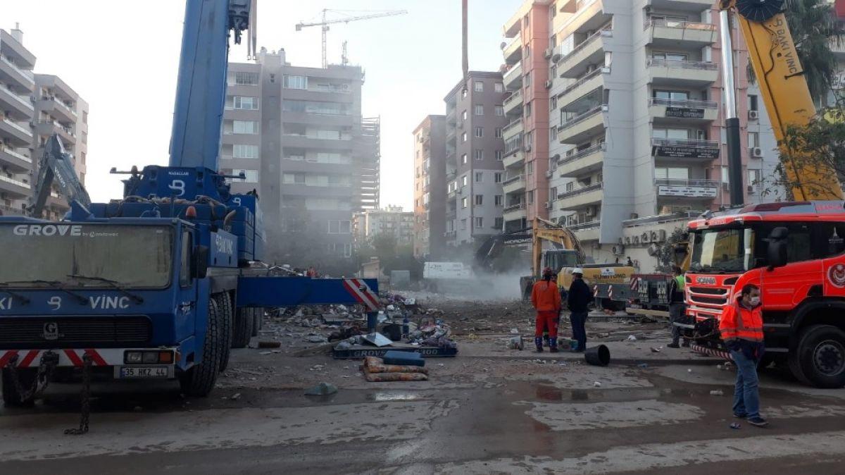 İzmir depreminde arama kurtarma faaliyetleri sona erdi #2